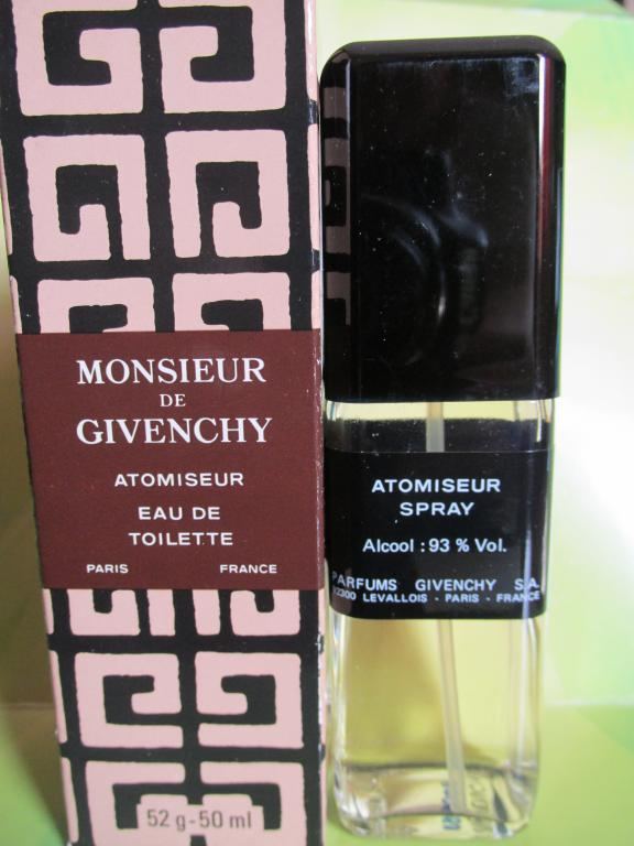 Monsieur de Givenchy Givenchy 50 мл old formula vintage 1998 год