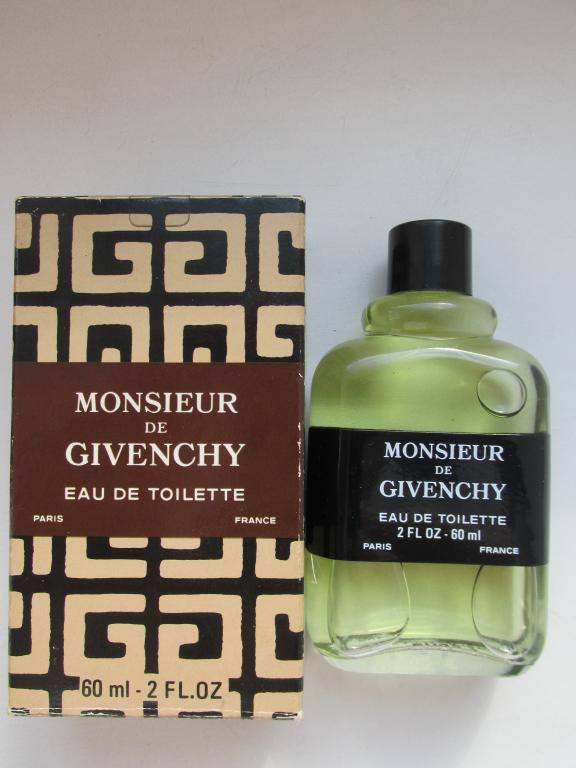 Monsieur de Givenchy Givenchy 60 мл old formula vintage 1992 год