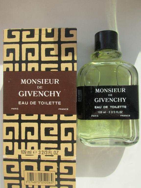 Monsieur de Givenchy Givenchy 109 мл old formula vintage 1991 год
