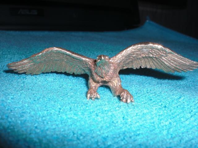 Орел фигурка настольная из бронзы