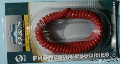 Микротелефонный шнур к трубке