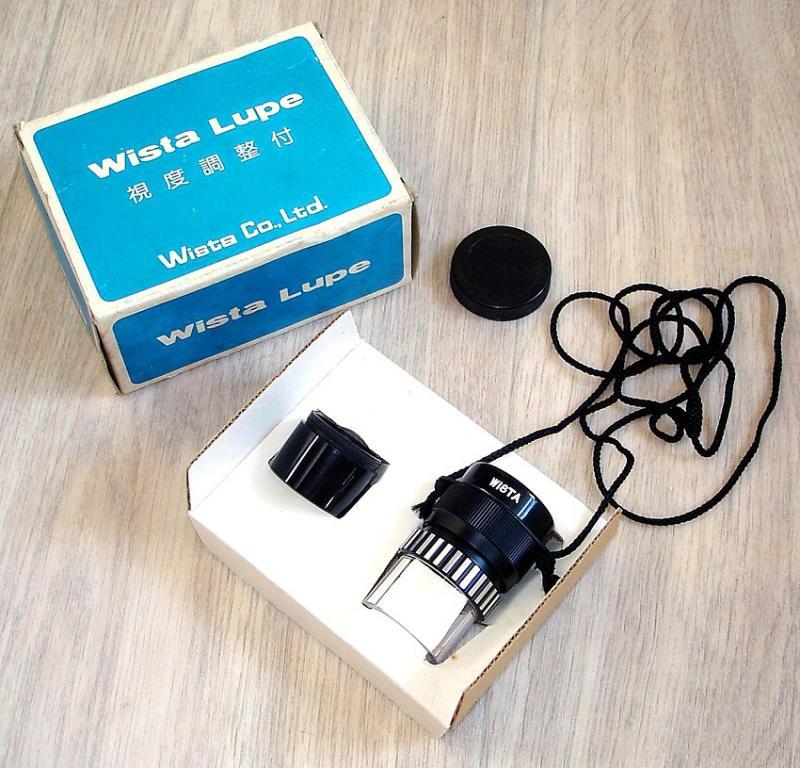 Универсальная лупа WISTA Lupe 5x Made in Japan