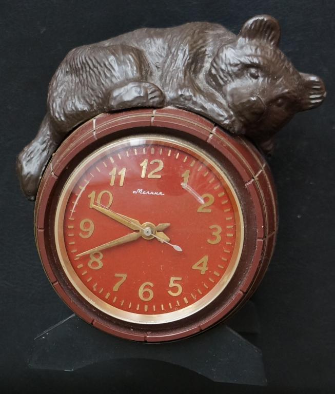 Мишка стоимость бочке часы на шахматные часы продать