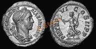 *AS* Рим :: император Александр Север :: денарий Пакс (UNC)