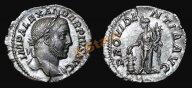 *AS*  Рим :: император Александр Север (Severus Alexander) :: денарий Провидение (UNC)