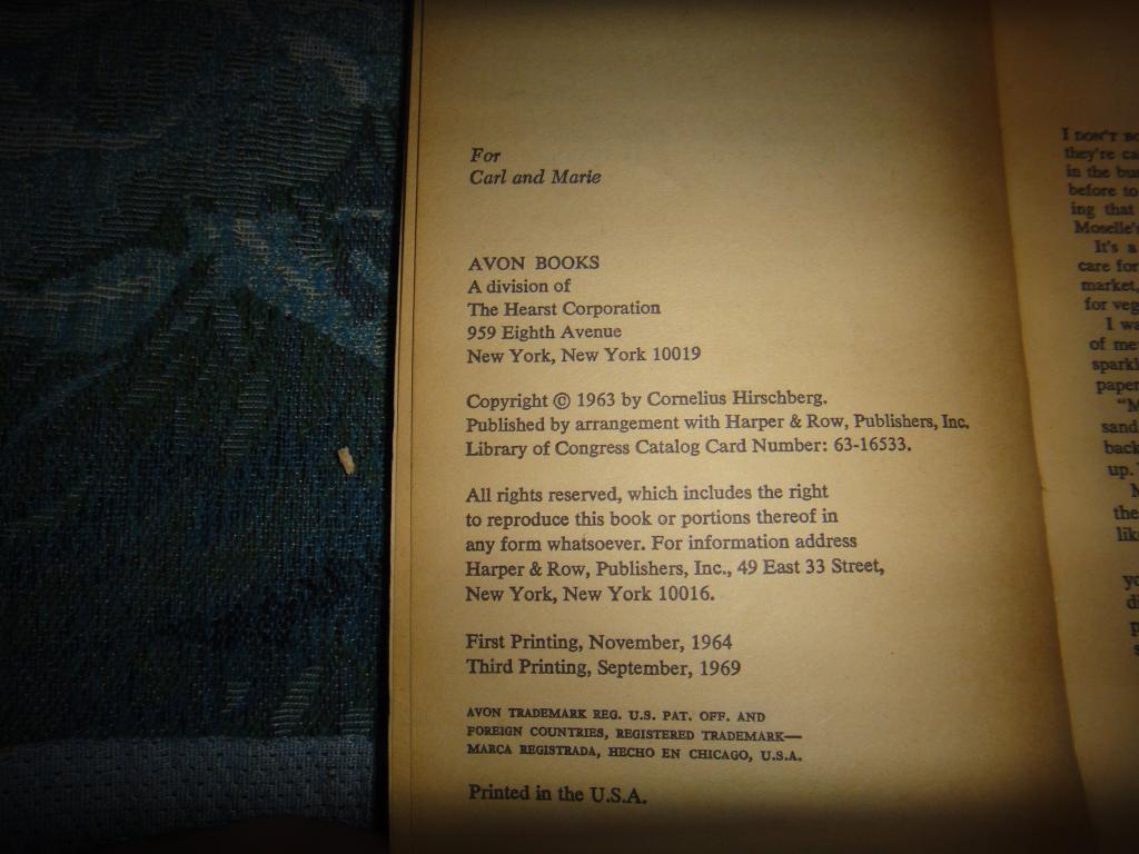 корнелиус хиршберг бесценный дар