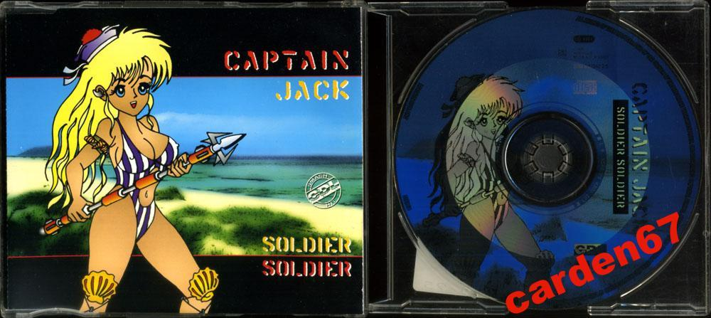 CAPTAIN JACK =SOLDIER SOLDIER= 1996 HOLLAND MAXI