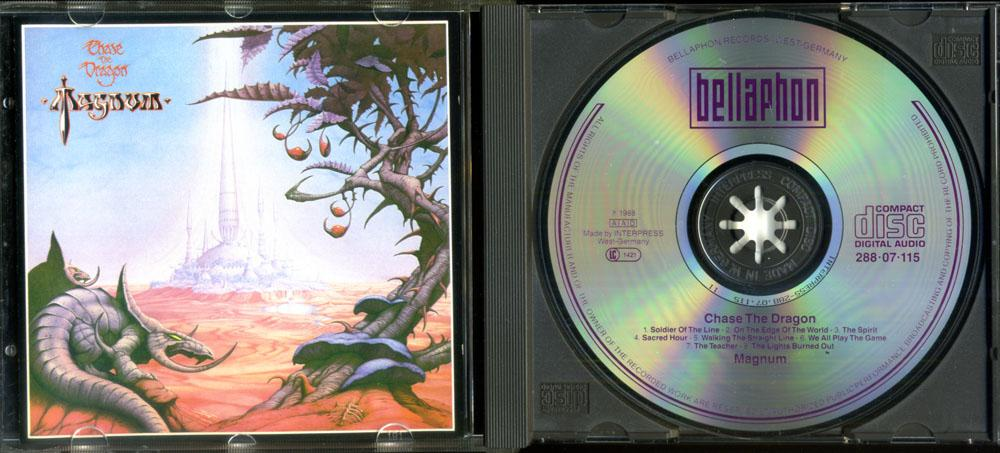 MAGNUM =CHASE THE DRAGON= 1982 WEST GERMANY CD