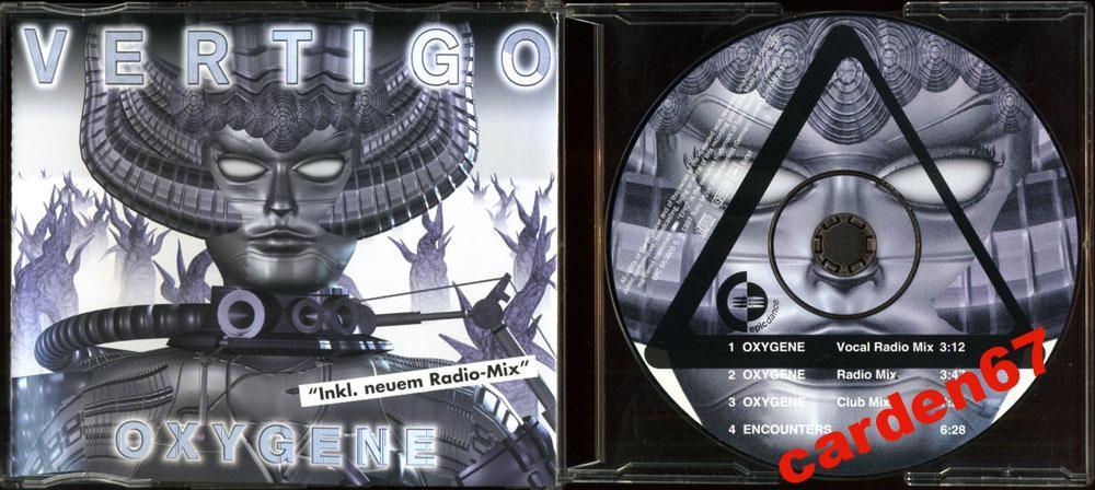 VERTIGO =OXYGENE= 1997 AUSTRIA MAXI CD