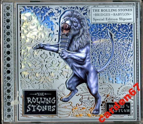 THE ROLLING STONES =BRIDGES TO BABYLON= 1997 CD