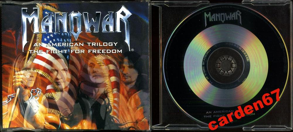 MANOWAR =AN AMERICAN TRILOGY FIGHT FOR FREEDOM= 2002 GERMANY MAXI-CD