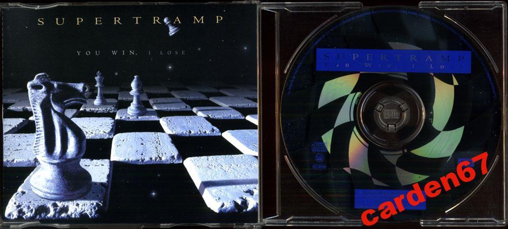 SUPERTRAMP =YOU WIN, I LOSE= 1997 HOLLAND MAXI-CD