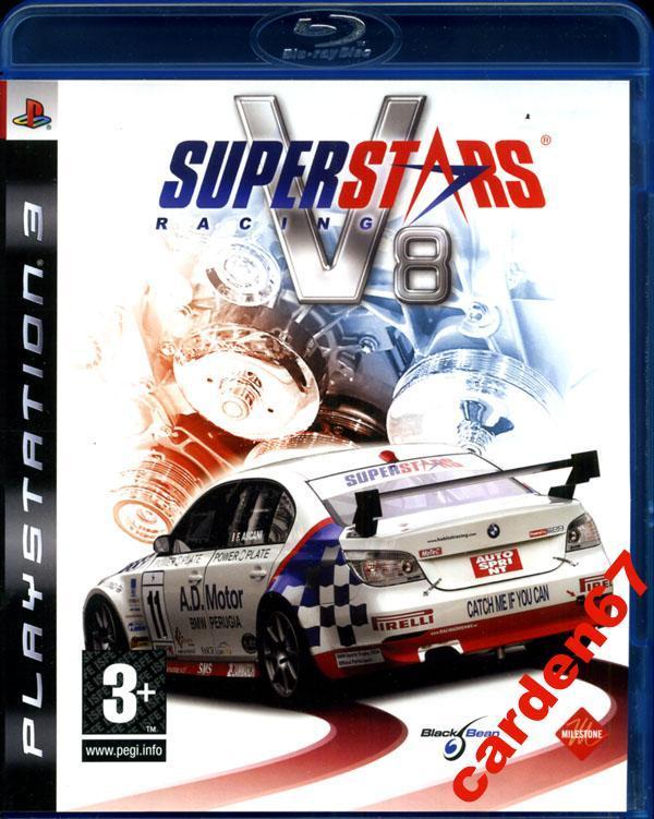 SUPERSTARS V8 RACING =PLAYSTATION 3= AUSTRIA