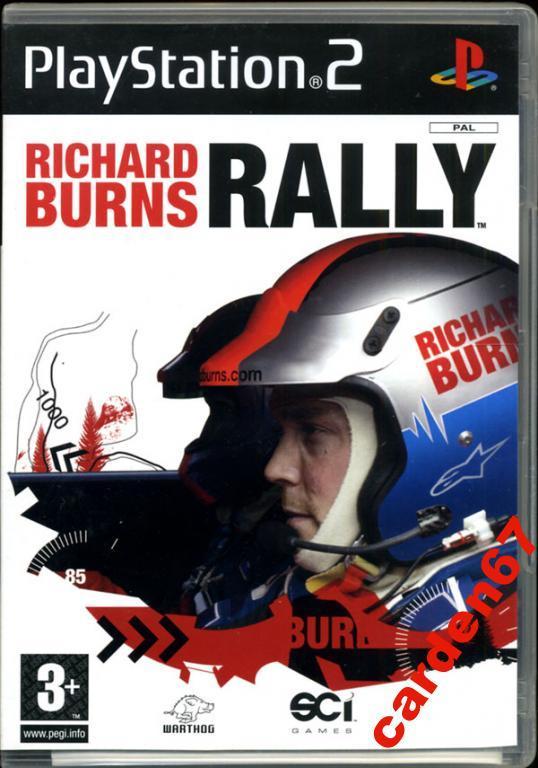RICHARD BURNS RALLY =PLAYSTATION 2= AUSTRIA