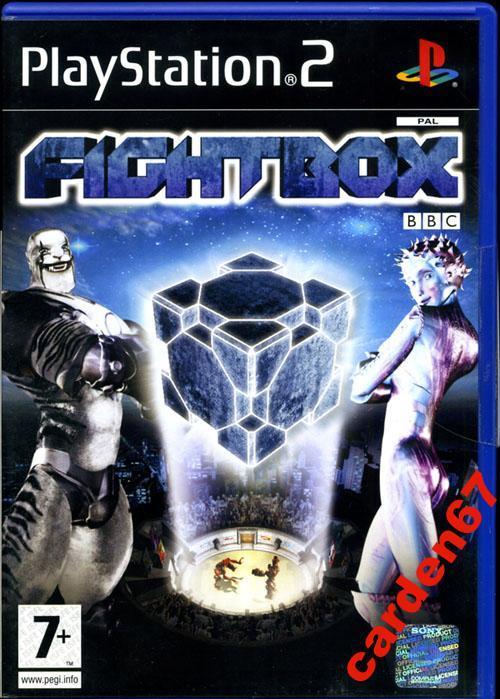 FIGHTBOX =PLAYSTATION 2= AUSTRIA ЗАПЕЧАТАН