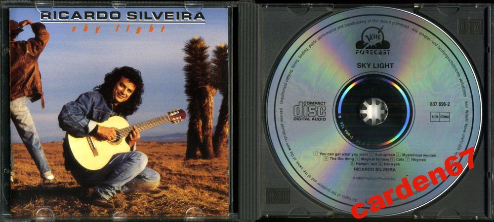 RICARDO SILVEIRA =SKY LIGHT= 1989 WEST GERMANY PDO