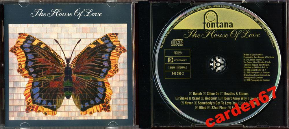 THE HOUSE OF LOVE 1990 WEST GERMANY POLYGRAM CD