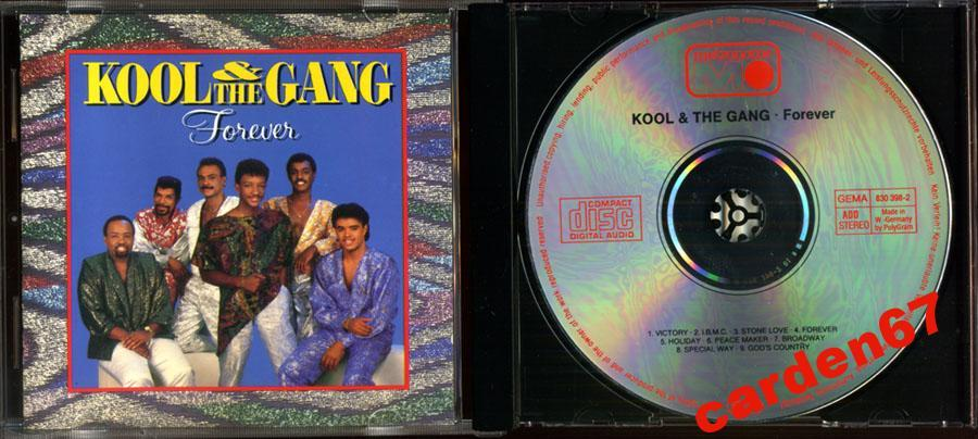 KOOL AND THE GANG =FOREVER= 1986 WEST GERMANY POLYGRAM CD