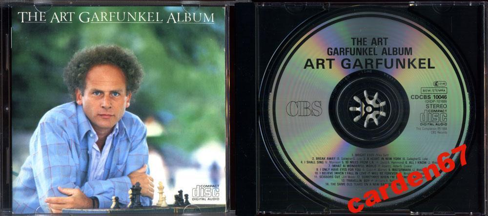 ART GARFUNKEL =THE ALBUM= 1984 JAPAN / UK CD