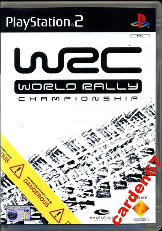 WORLD RALLY CHAMPIONSHIP =PLAYSTATION 2= AUSTRIA