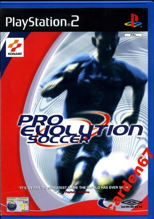 PRO EVOLUTION SOCCER =PLAYSTATION 2= AUSTRIA
