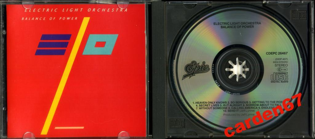 ELECTRIC LIGHT ORCHESTRA =BALANCE POWER= JAPAN /UK CD