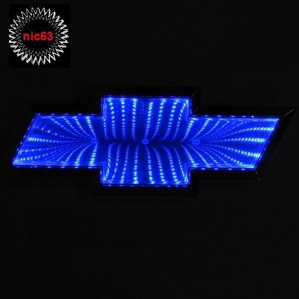 3D светодио-ая ПОДСВЕТКА ЭМБЛЕМЫ логотип CHEVROLET
