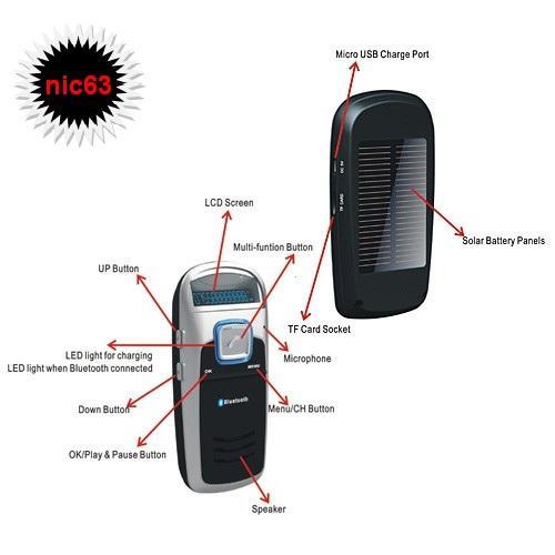 АВТО ГРОМКАЯ СВЯЗЬ С FM MP3 Bluetooth от СОЛНЦА