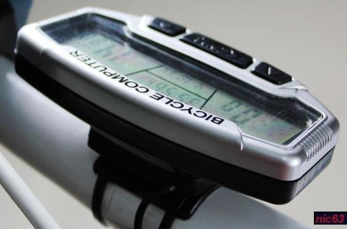 Универсальный ВЕЛОКОМПЬЮТЕР цифровой электронный с подсветкой