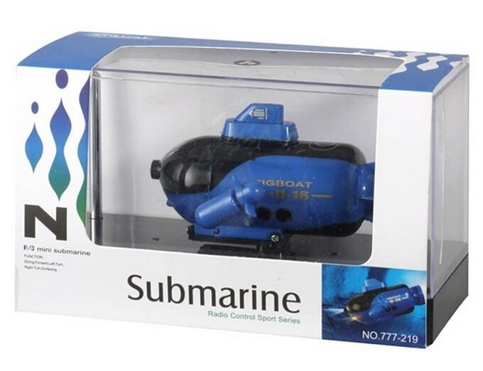 беспроводная подводная лодка