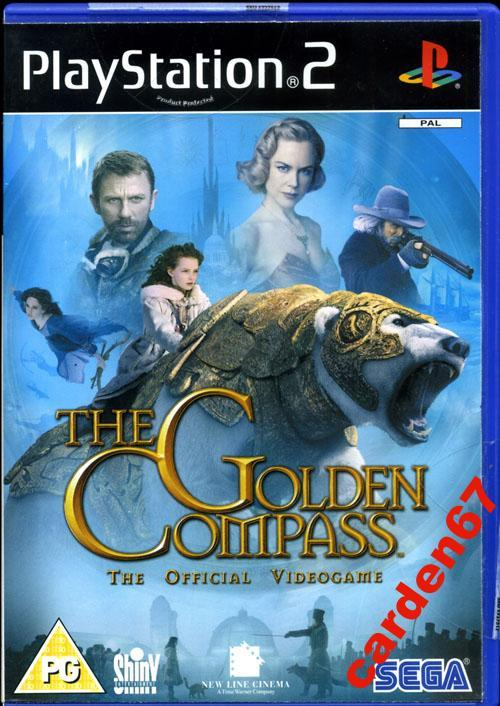 THE GOLDEN COMPASS =PLAYSTATION 2= AUSTRIA НОВЫЙ