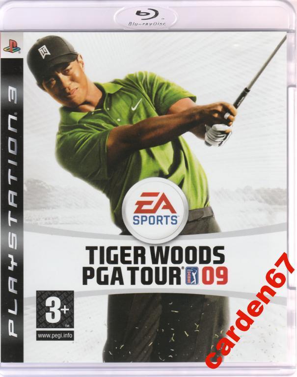 TIGER WOODS PGA TOUR 09 =PLAYSTATION 3= PS3 EU