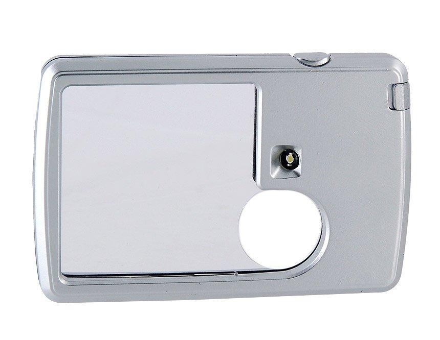 3Х/6Х лупа увеличительное стекло со светодиодной LED подсветкой