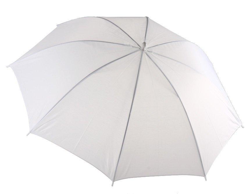 """33"""" белый студийный зонт 36W"""