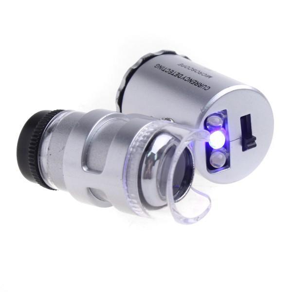 60Х микроскоп со светодиодной и ультрафиолетовой подсветкой
