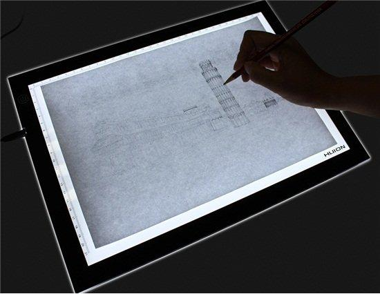 Как сделать световой планшет для рисования