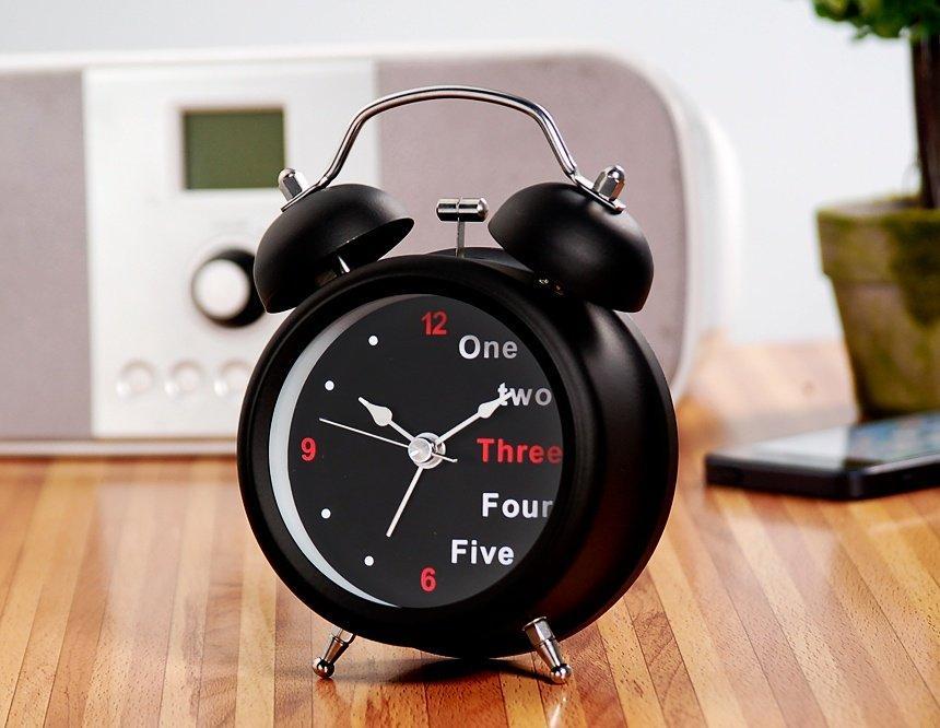 Настольные часы будильник 32B
