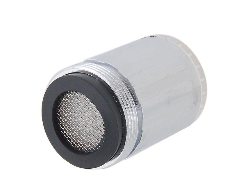 Синяя насадка на кран со светодиодной LED подсветкой без необходимости источников энергии