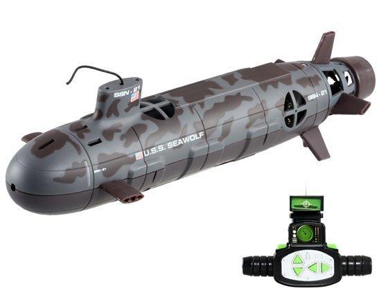 модель подводной лодки на радиоуправлении с камерой купить
