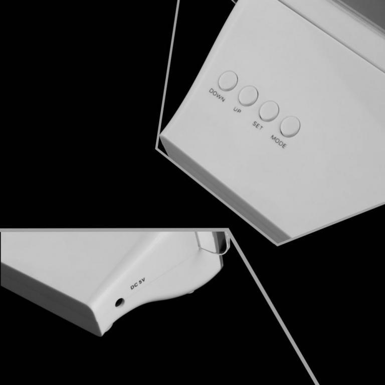 USB ЧАСЫ БУДИЛЬНИК с ЛЮМИНИСЦЕНТНОЙ ДОСКОЙ для СООБЩЕНИЙ и ЗАПИСЕЙ