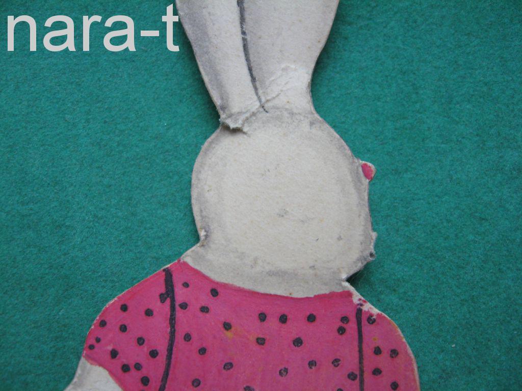 Елочная игрушка! Заяц-самоделка!