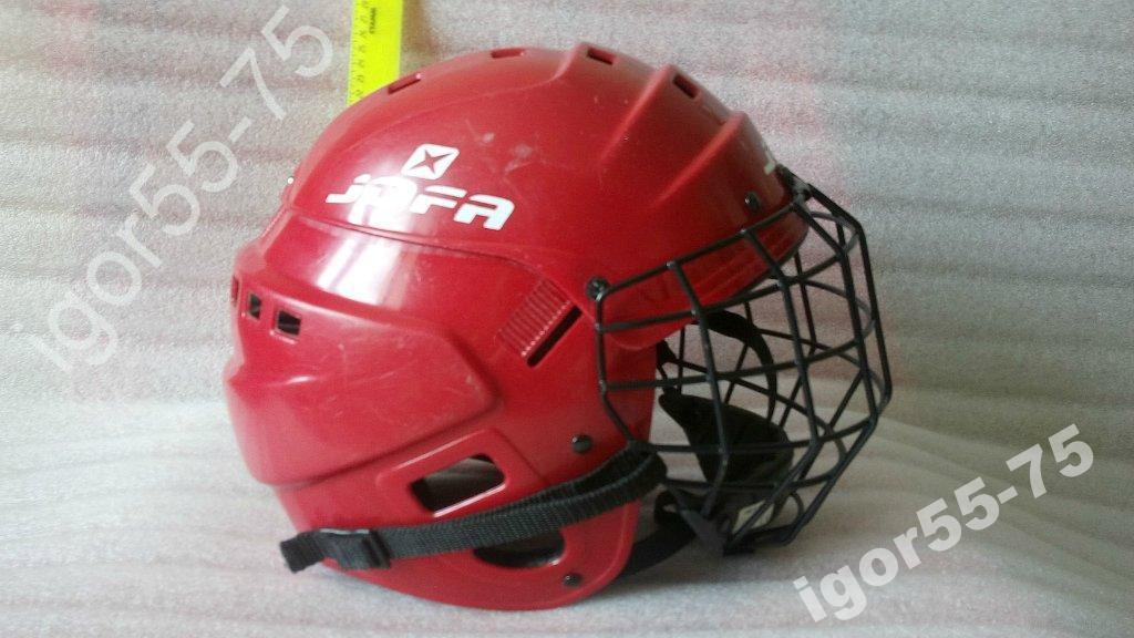 Хоккей. Хоккейная каска,шлем,маска JOFA.