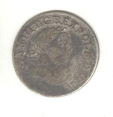 Польша 6 грошей 1683 Ян III Собеский Серебро