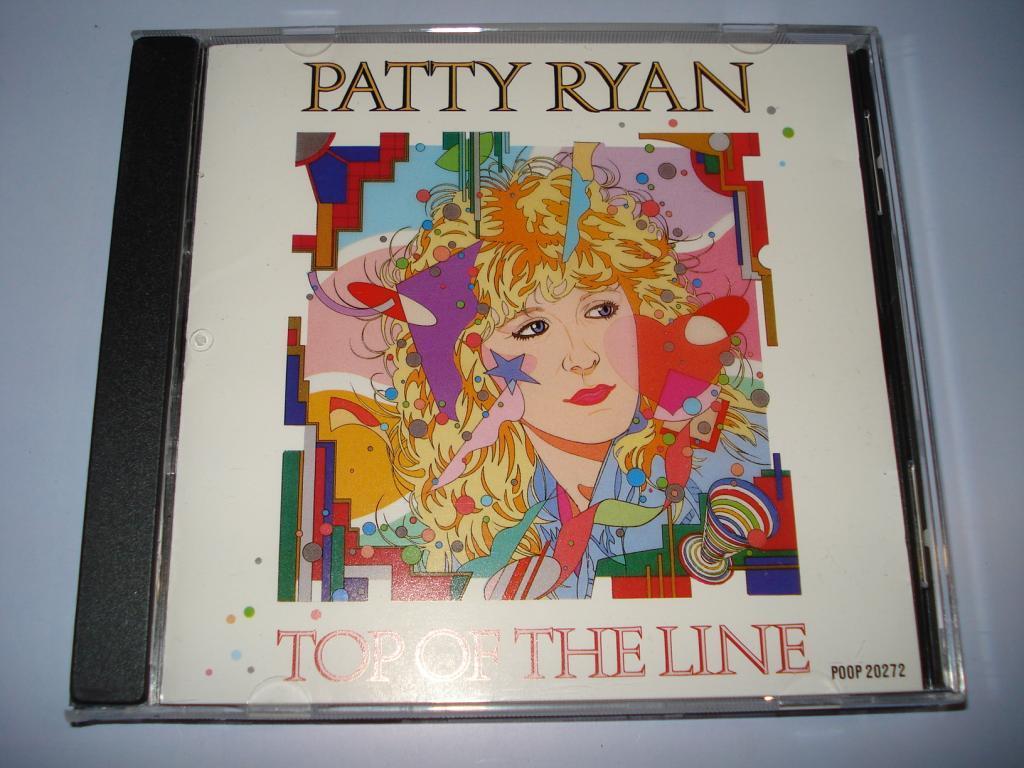 PATTY RYAN -Top Of The Line(Japan cd) italo disco