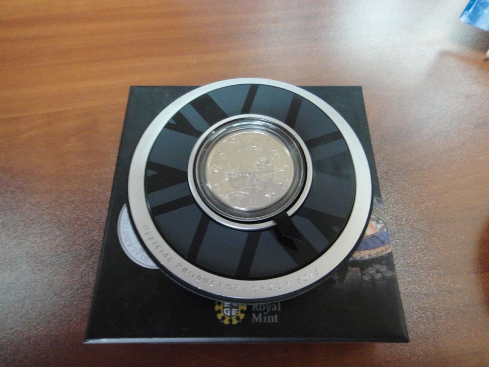 5 фунтов, Олимпиада в Лондоне 2012 г. RRR Бесплатная доставка!