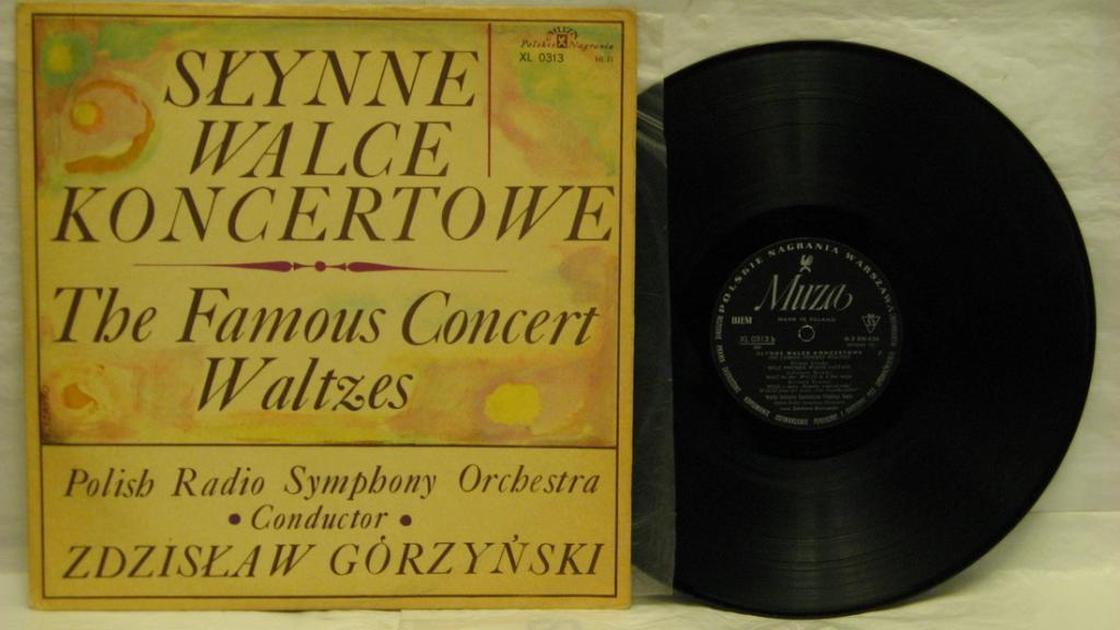 SLYNNE WALCE KONCERTOWE-poland-1966