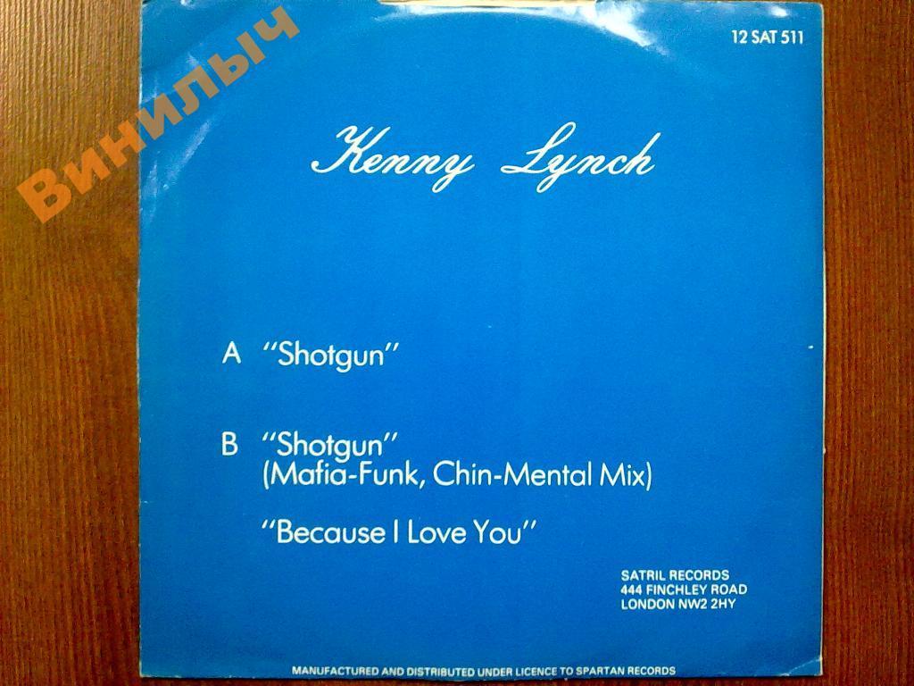 KENNY LYNCH Shotgun MS EX/EX РАСПРОДАЖА