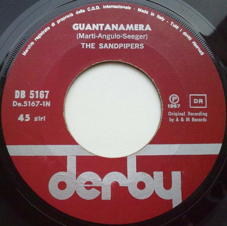 The Sandpipers  Guantanamera lyrics  LyricsModecom