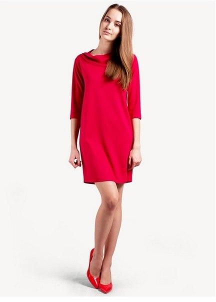 Красное Платье Туника