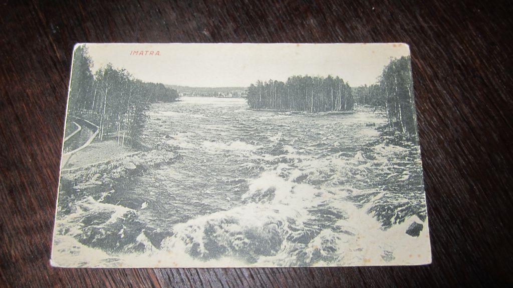примеру, старинные открытки финляндии все это время